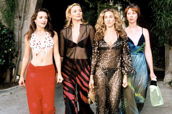 SEX AND THE CITY, (Season 3), Kristin Davis, Kim Cattrall, Sarah Jessica Parker, Cynthia Nixon, 1998-2004